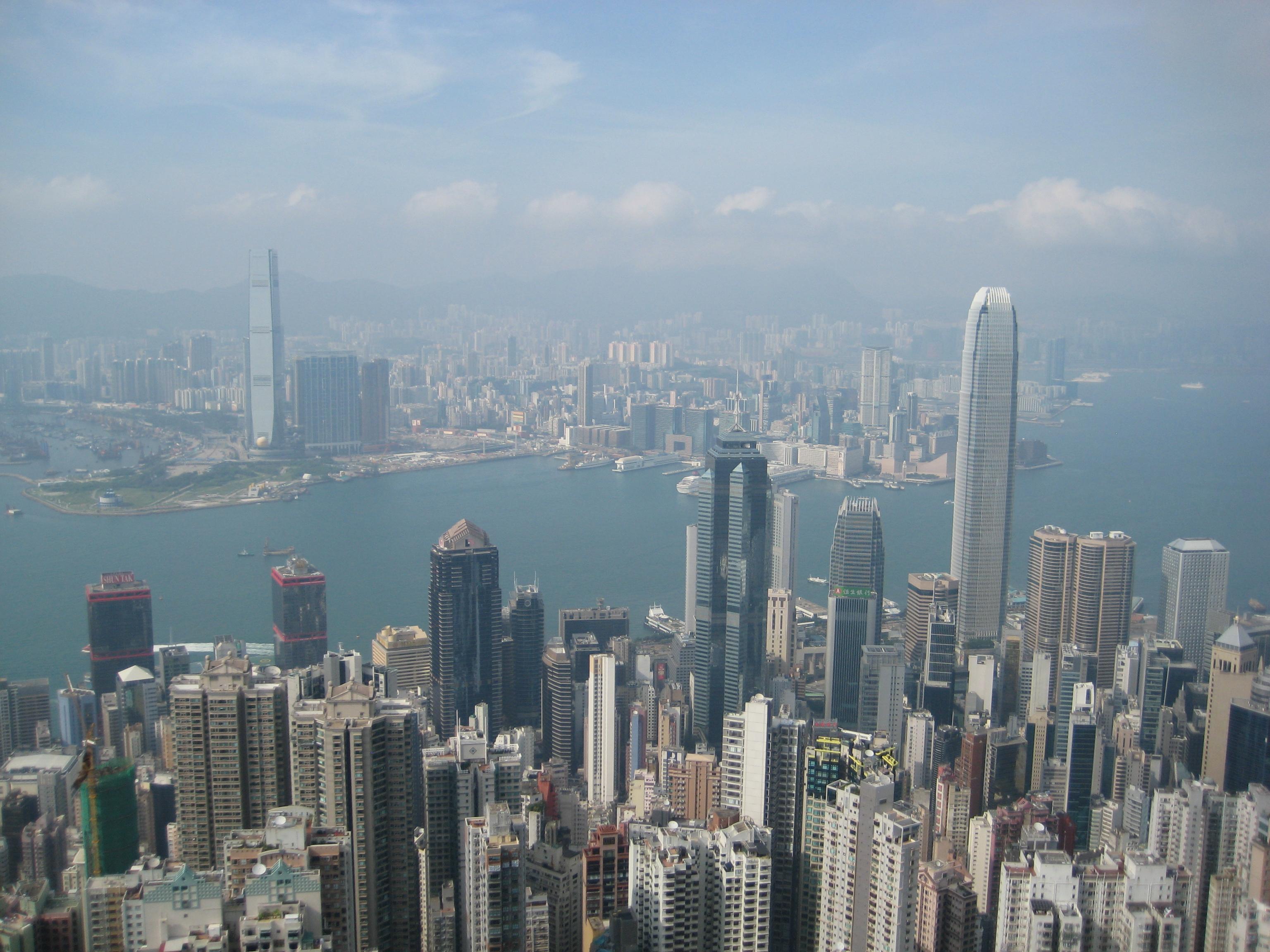 Hong kong s beautiful views marred by pollution china environmental governance - Air china hong kong office ...